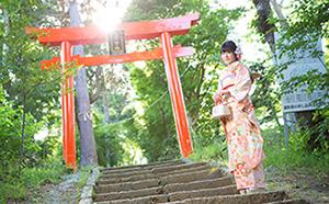 和装で婚礼 works